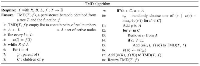TMD Algorithm